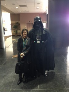 Elisa & Darth Vader